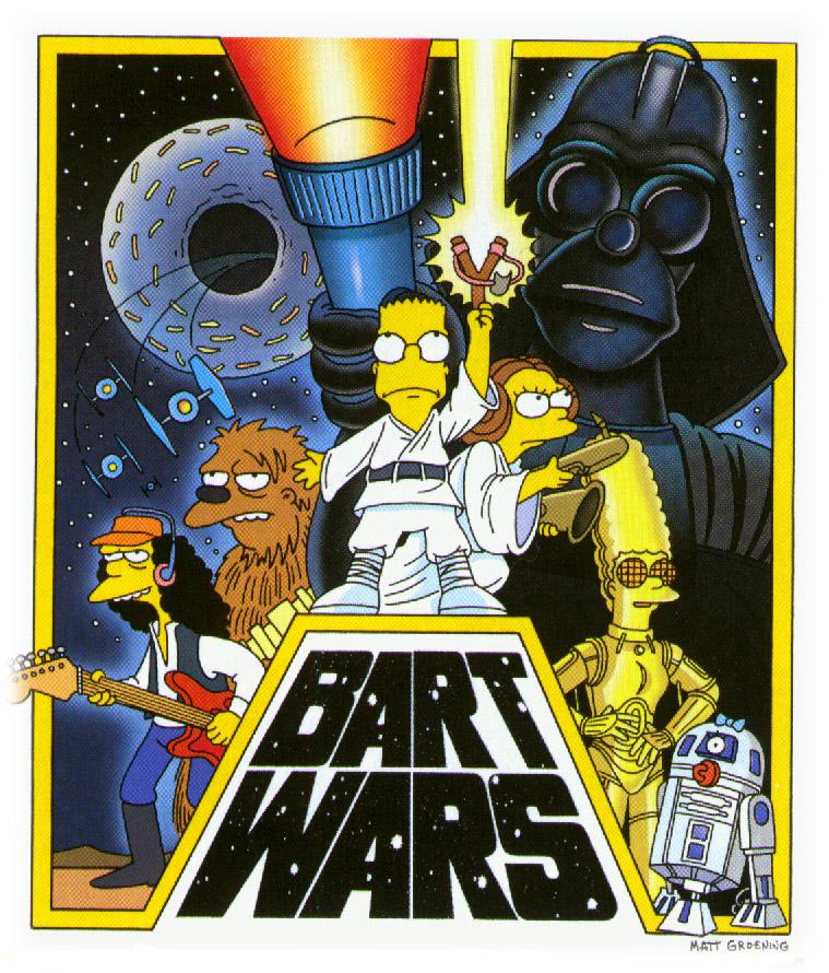 Simpsons Meets Star Wars