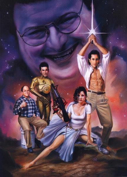 Seinfeld Meets Star Wars